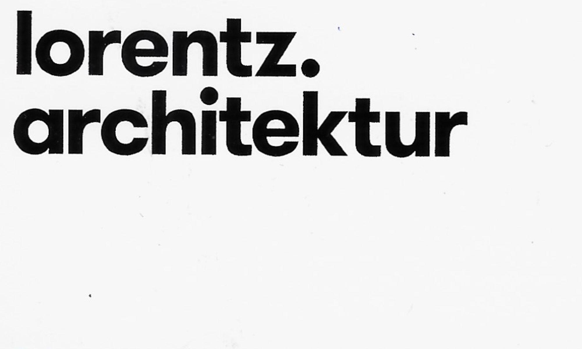 lorentz.architektur